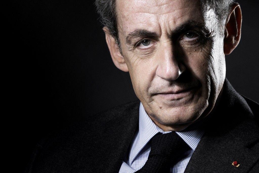 Nicolas Sarkozy lors d'une séance photo pour l'AFP. Le tribunal judiciaire de Paris a ordonné l'audition comme témoin de Nicolas Sarkozy dans le cadre du procès des sondages de l'Elysée. .