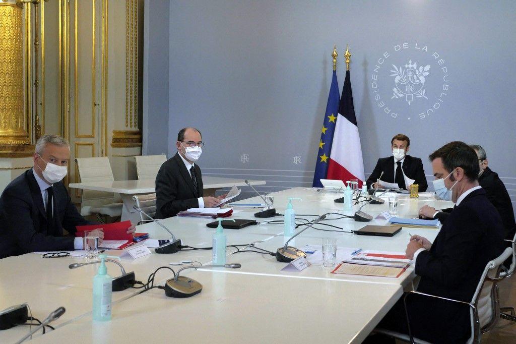 Emmanuel Macron Jean Castex Olivier Véran cabinets de conseil McKinsey crise sanitaire vaccin vaccination