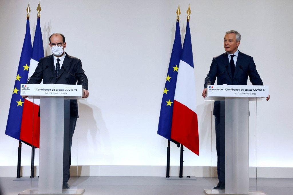 Les mesures de soutien à l'économie dans les 16 départements concernés par le confinement partiel coûteront 1,2 milliard d'euros en plus par mois, selon Bercy.