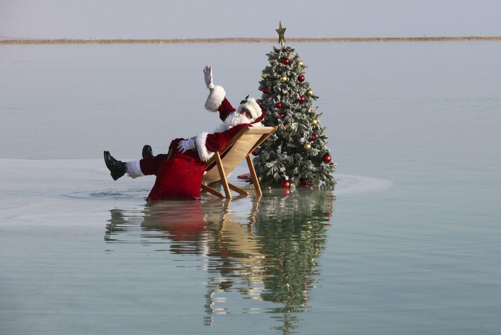 sapins de Noël fin d'année ventes décret père Noël