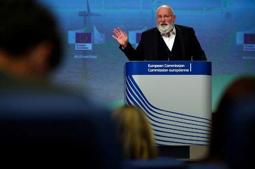 Le commissaire européen pour le Green Deal, Frans Timmermans.