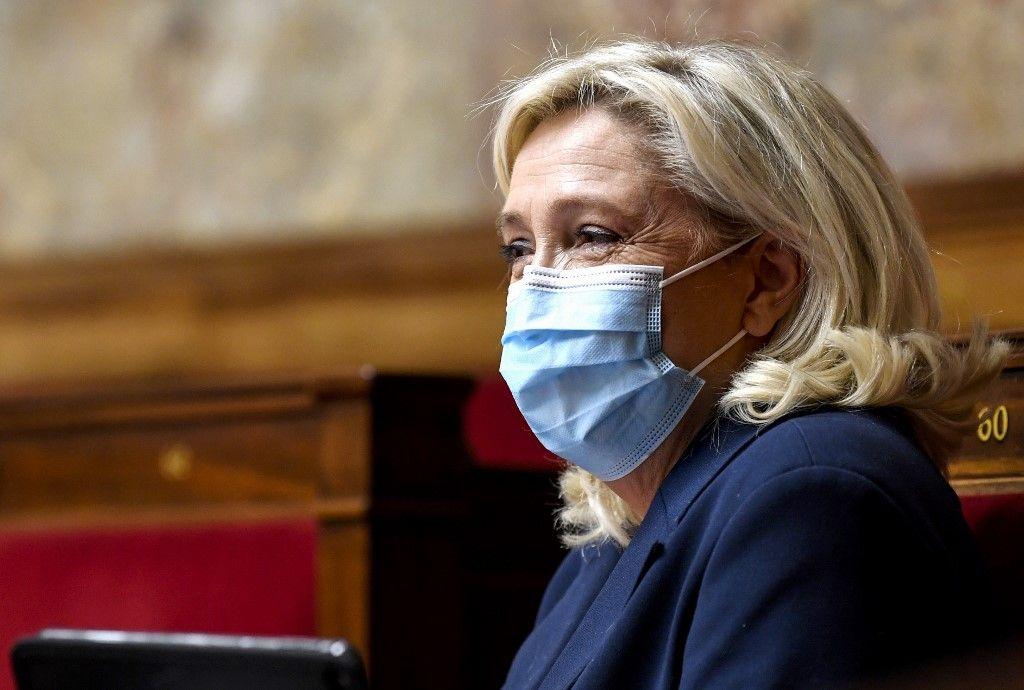 Marine Le Pen Rassemblement national sondage citoyens opposition