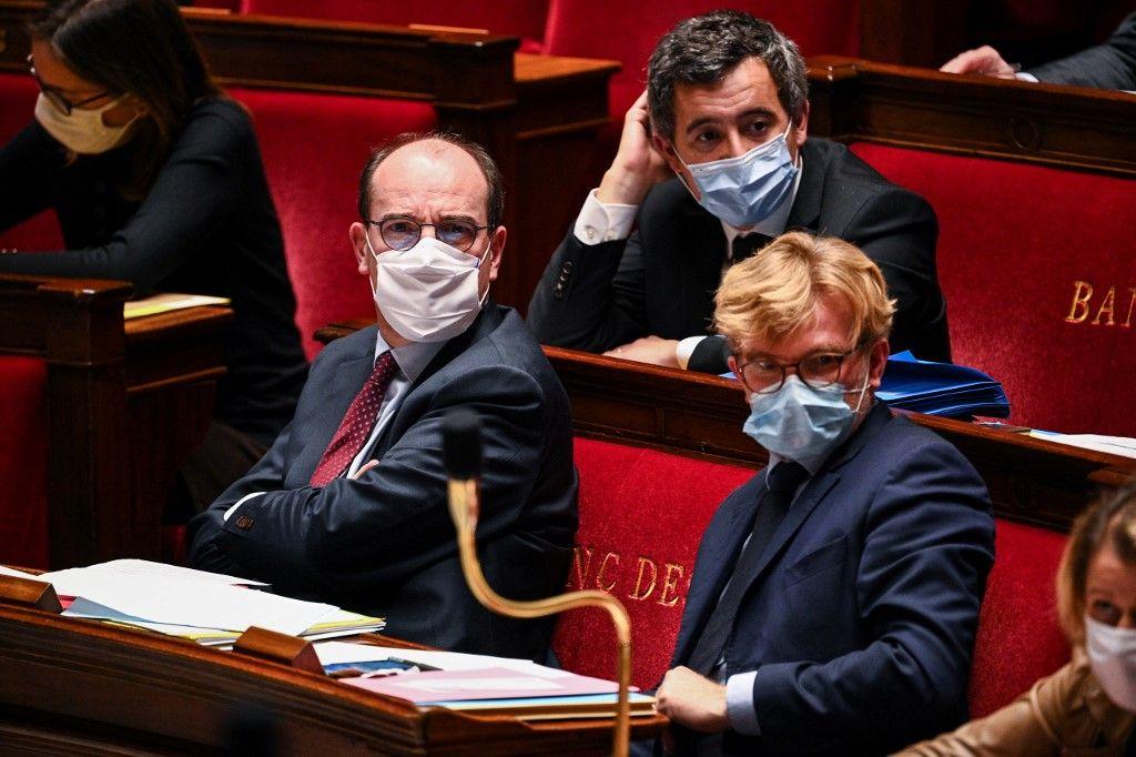 ministres Gérald Darmanin Jean Castex projet de loi sécurité globale députés
