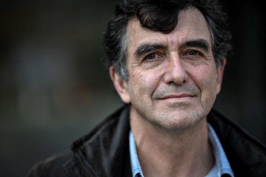 L'épidémiologiste et chercheur français Arnaud Fontanet lors d'une séance photo à l'Institut Pasteur de Paris le 25 novembre 2020.