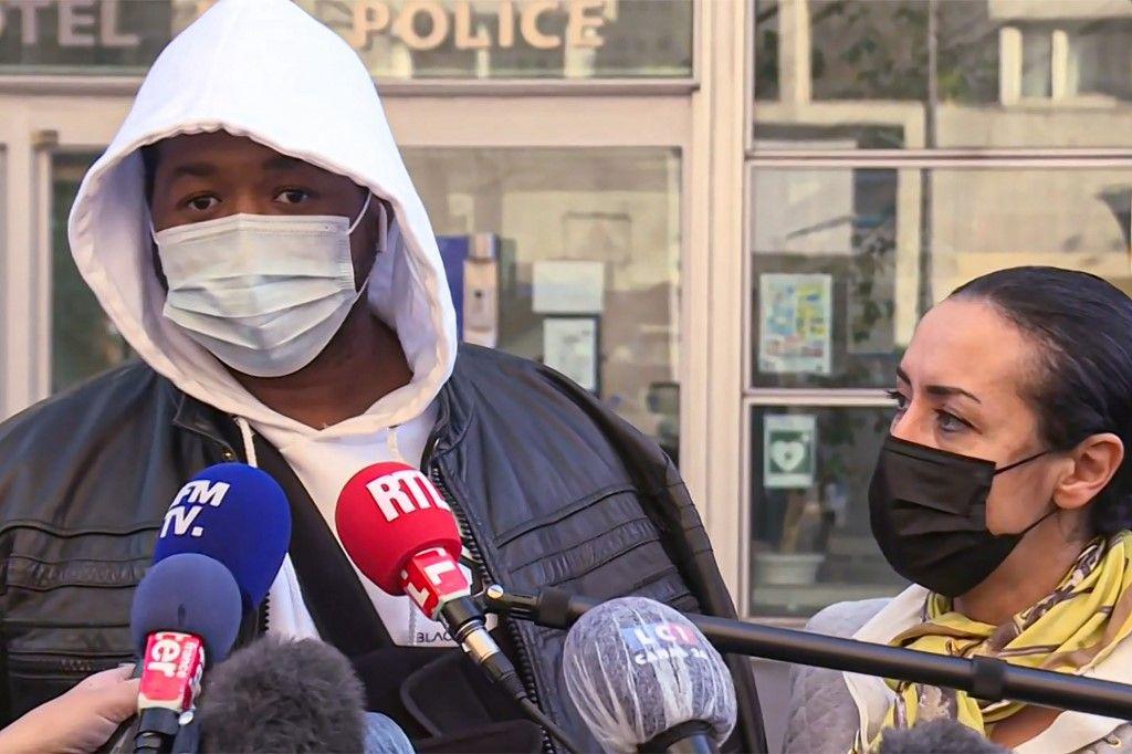 Michel producteur de musique police violences