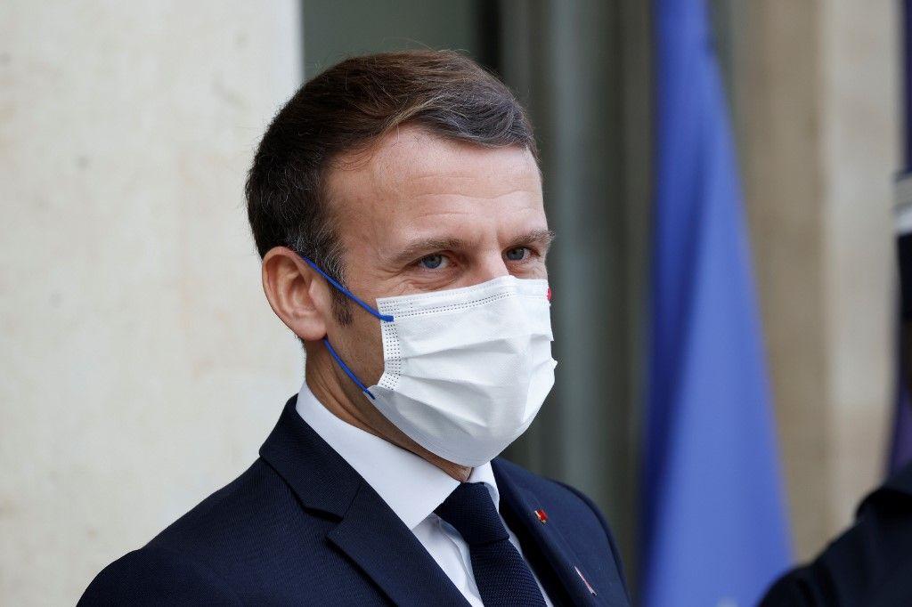 Emmanuel Macron entretien à Brut