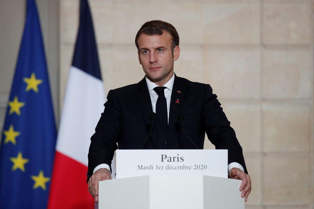 Emmanuel Macron Brut entretien hommage Valéry Giscard d'Estaing