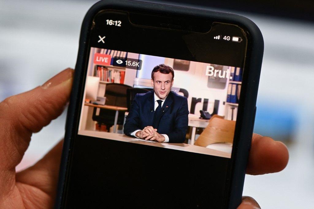 Emmanuel Macron Brut entretien