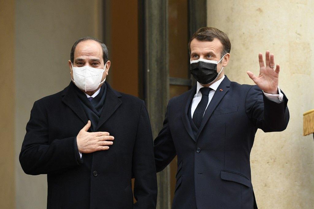 France Egypte Emmanuel Macron Al-Sissi