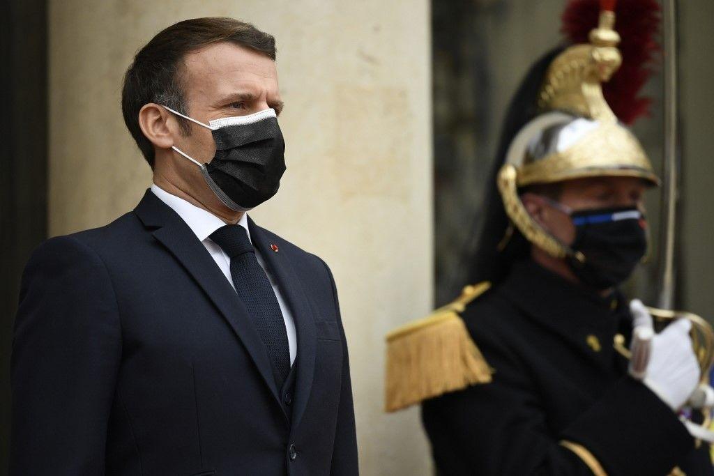 Emmanuel Macron repas Elysée LREM Modem