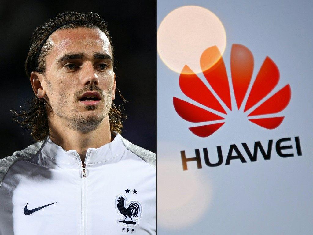 Antoine Griezmann équipe de France de football Huawei Ouïghours