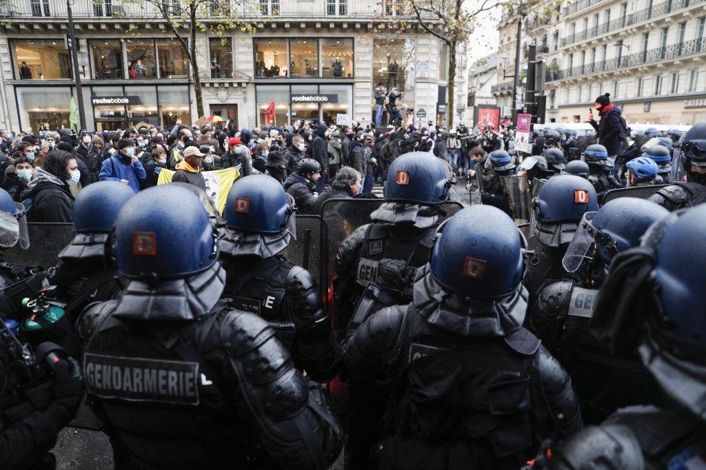 Loi Sécurité globale : 119 interpellations à Paris