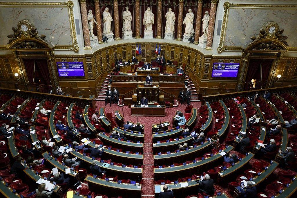 Une vue du Sénat.