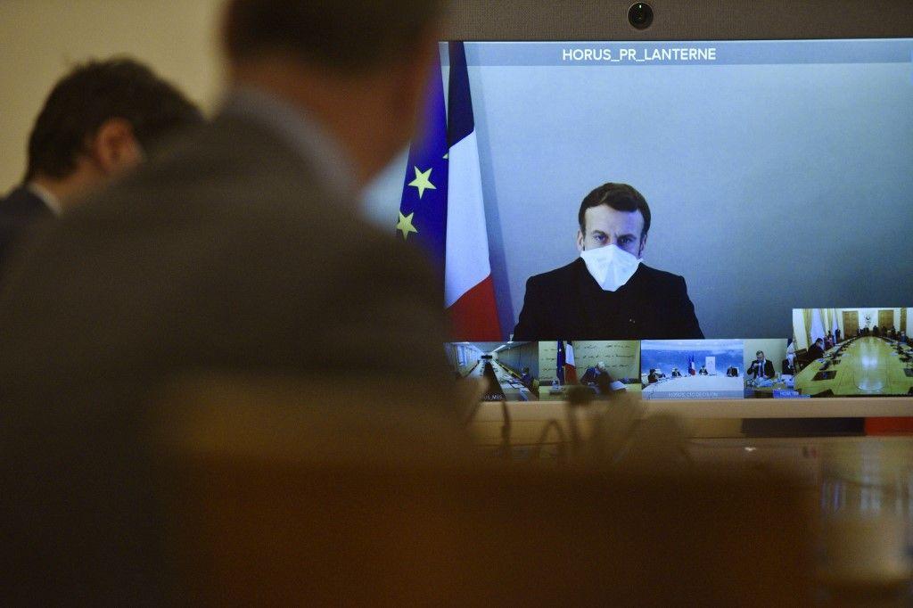 visioconférence conseil des ministres Emmanuel Macron 2021 rentrée prévisions année