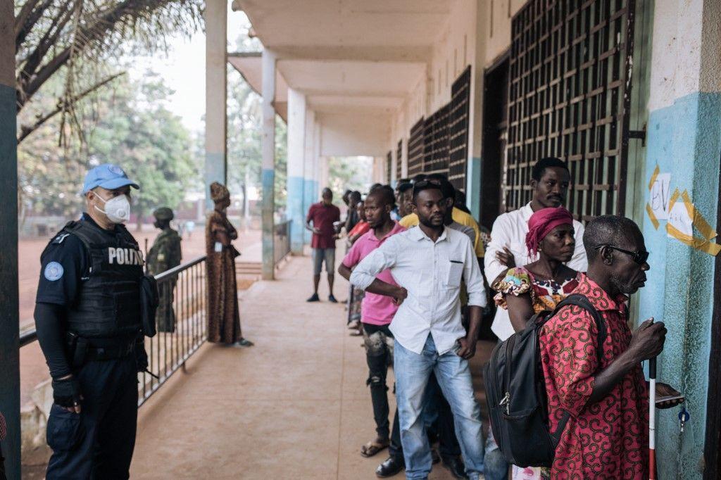Centrafrique vote élections
