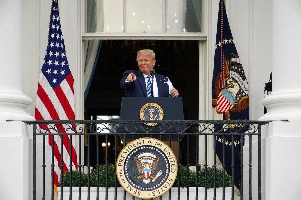 Donald Trump impeachment destitution Capitole Washington