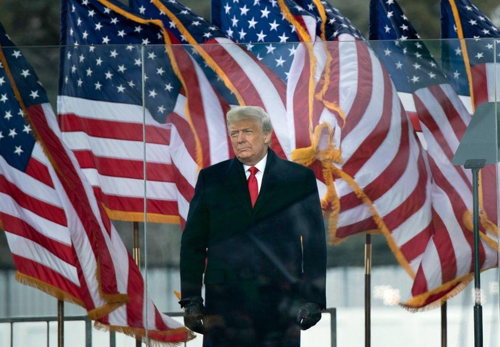 Donald Trump Washington Capitole Etats-Unis populisme élites démocratie américaine