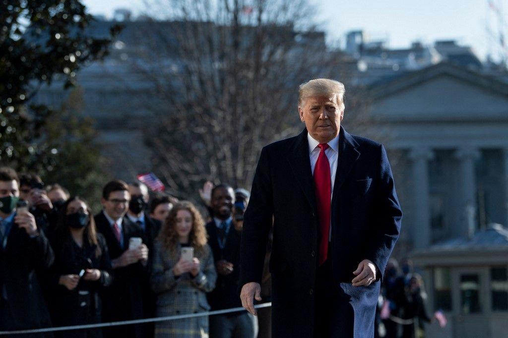 Donald Trump Etats-Unis destitution impeachment