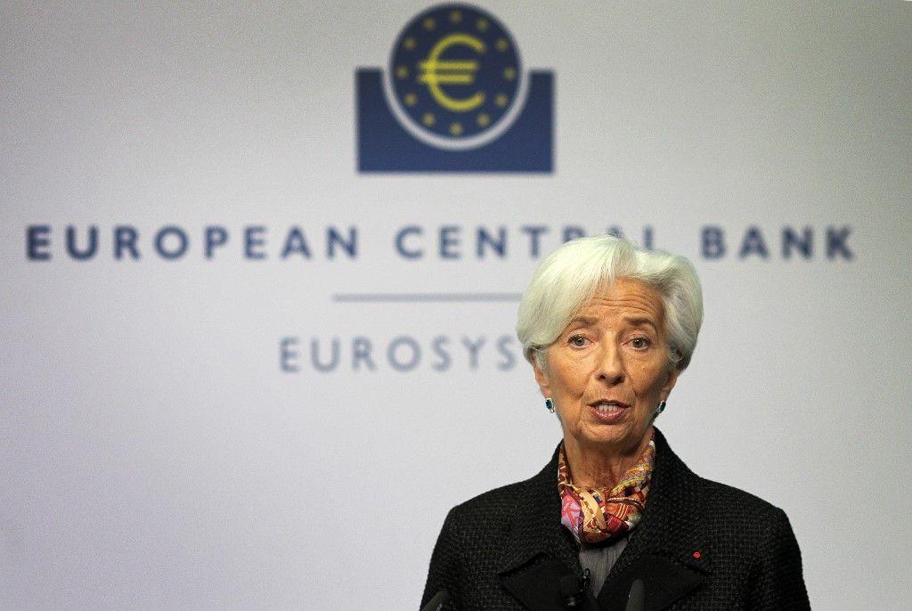 Christine Lagarde, président de la Banque centrale européenne.