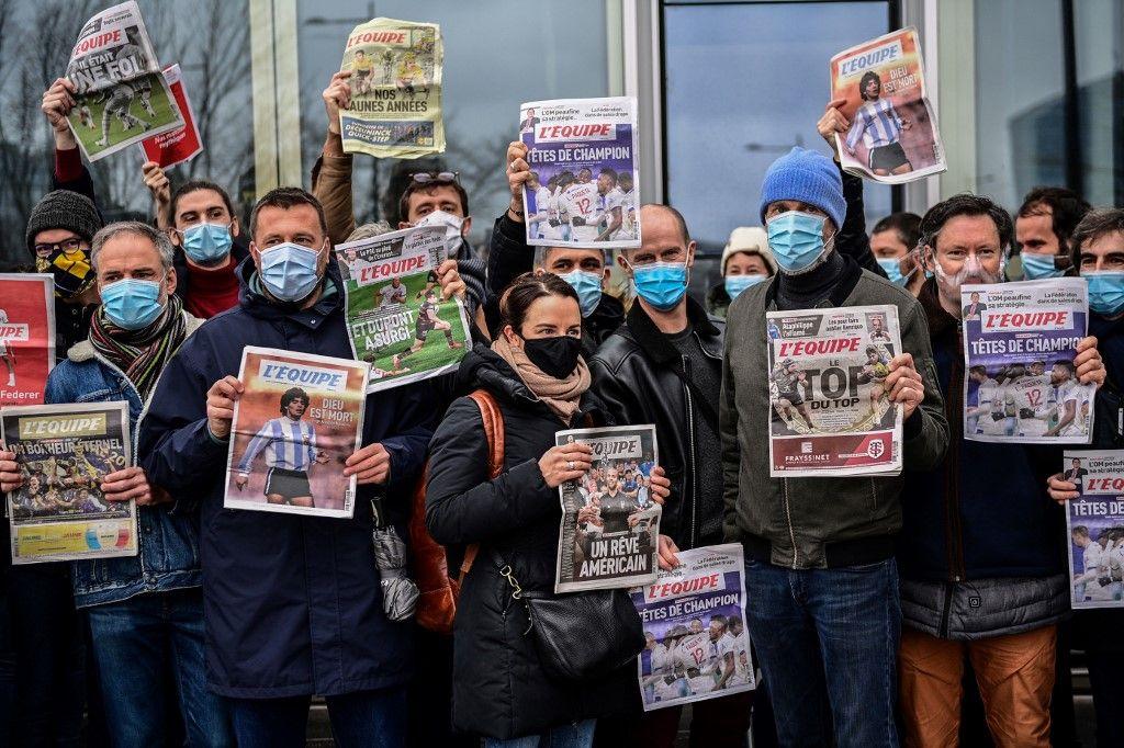 Suspension de la grève: le journal L'Equipe sera à nouveau accessible dans les kiosques dès ce samedi 23 janvier