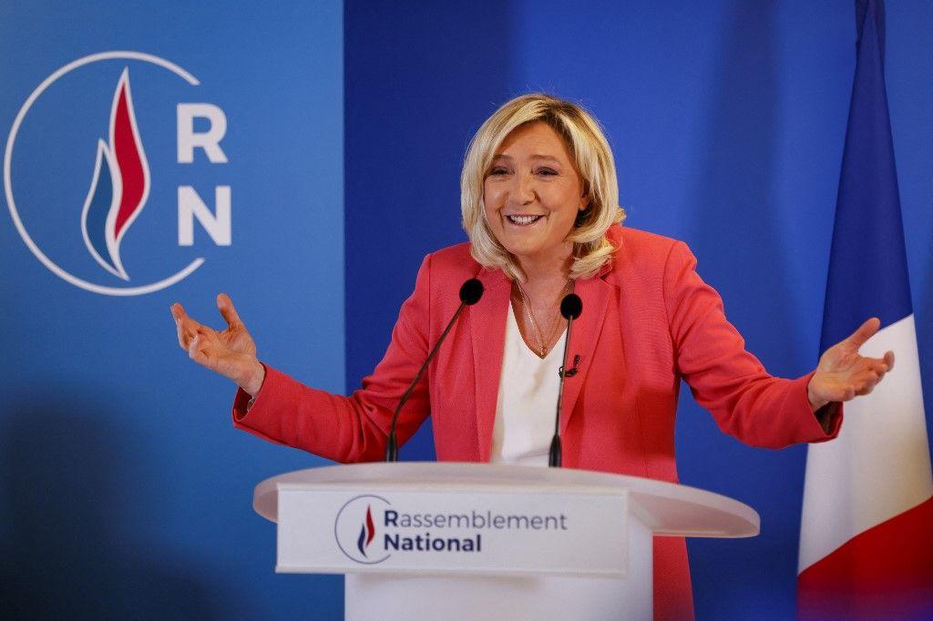 Scoop: Marine Le Pen est de droite…