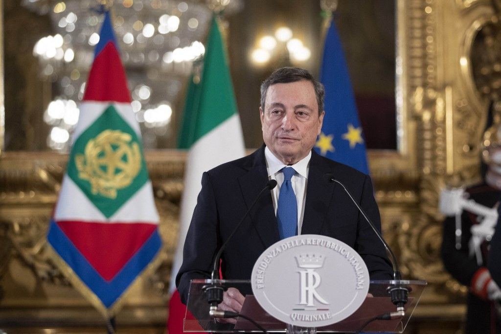Mario Draghi Italie nouveau gouvernement crise Banque centrale européenne