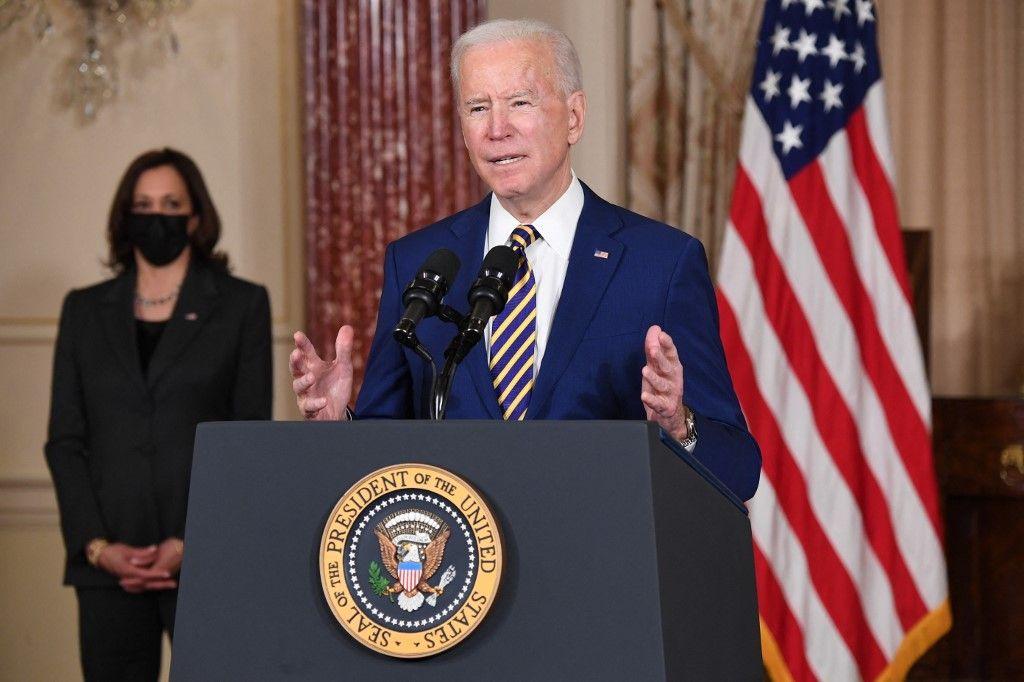 Joe Biden Etats-Unis Kamala Harris Washington