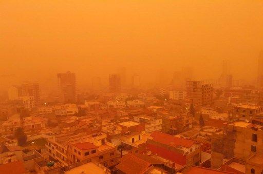 La ville d'Oran, en Algérie, est particulièrement touchée.