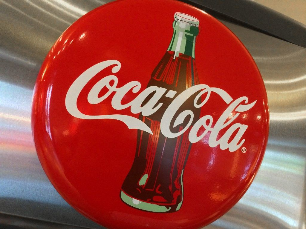 Coca-Cola bouteille en papier recyclage