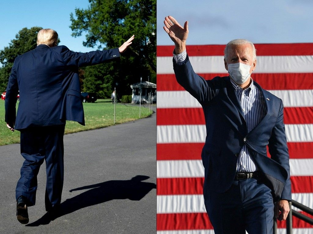 Donald Trump Joe Biden conservateurs crise du covid-19 idéologie classe politique éducation Washington Etats-Unis