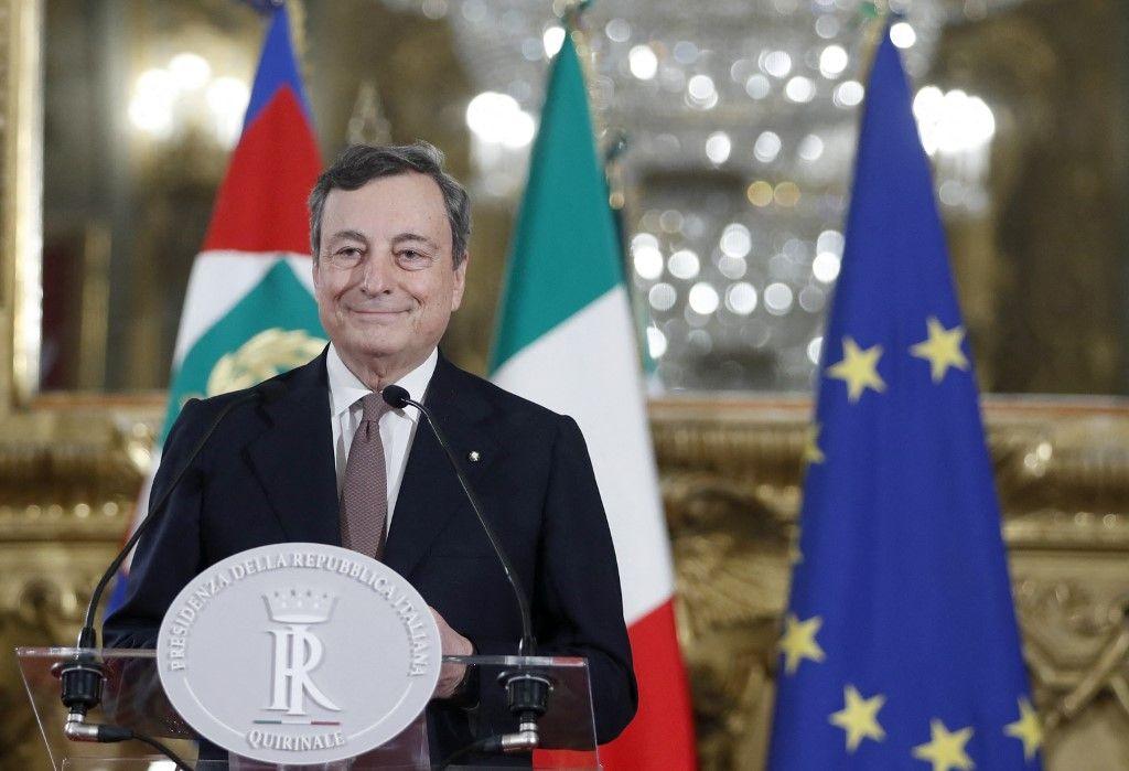 Mario Dragi Premier ministre Italie gouvernement