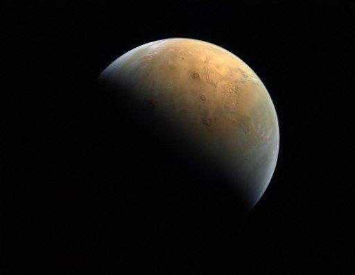 La planète Mars pourrait avoir été habitable récemment.