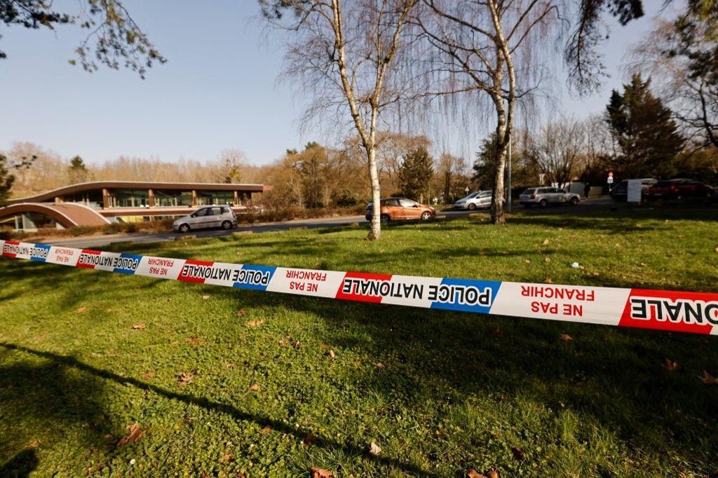 Vue du quartier bouclé de Boussy-Saint-Antoine, au lendemain du décès d'un adolescent de 14 ans dans une bagarre entre bandes rivales.