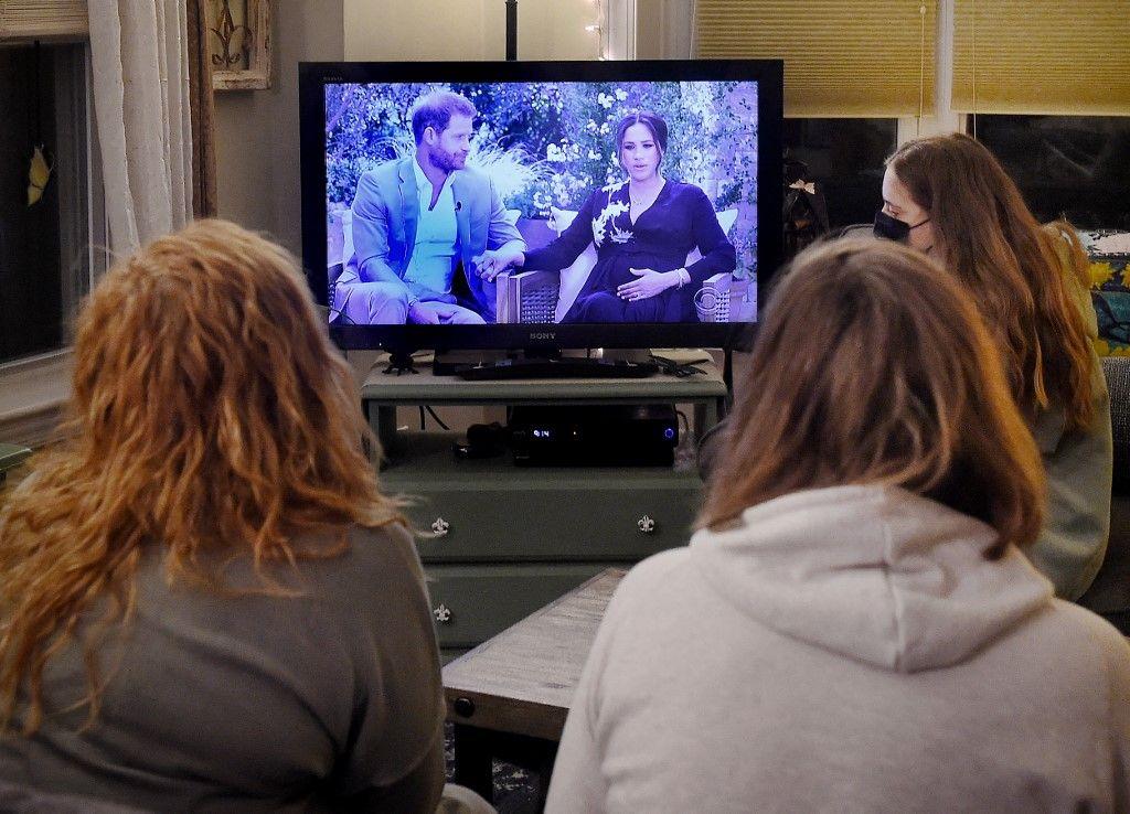 La diffusion de l'interview accordée par le prince Harry et Meghan Markle à Oprah Winfrey a profondément divisé les Britanniques, selon un sondage YouGov.
