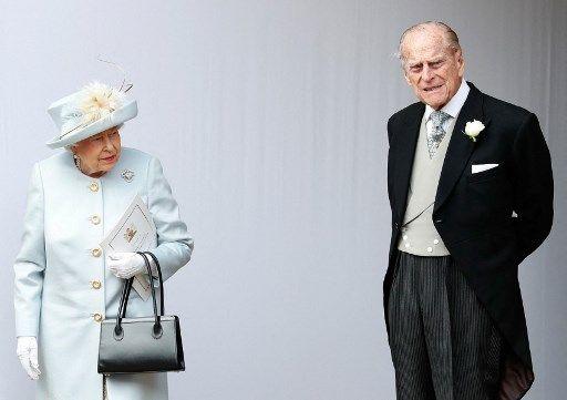 Le prince Philip et la reine Elisabeth II, en 2018.