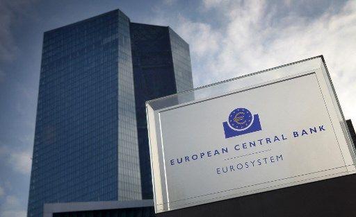La Banque centrale européenne (BCE), à Francfort.