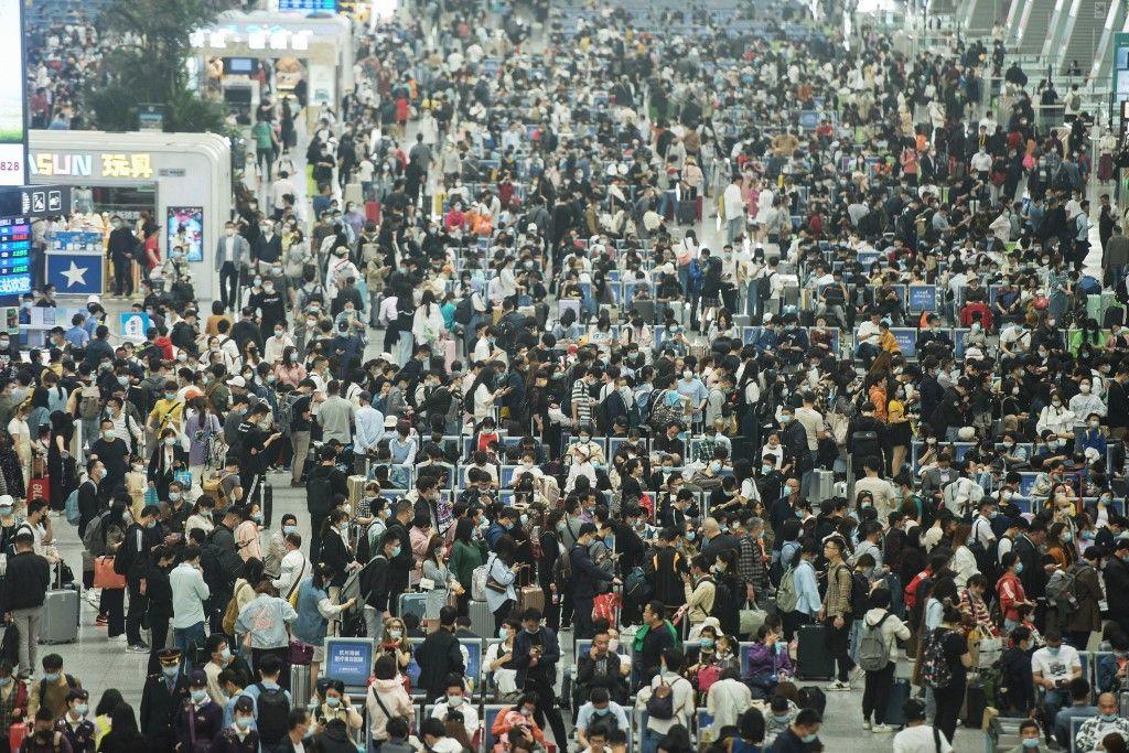 En Chine, la population aspire à un rythme de vie moins axé sur le travail.