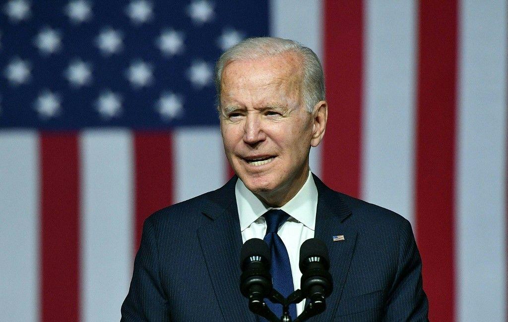 Le président américain Joe Biden s'exprime lors d'une commémoration du 100e anniversaire du massacre de Tulsa au Greenwood Cultural Center de Tulsa, dans l'Oklahoma, le 1er juin 2021.