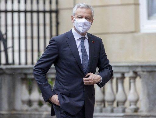 """Bruno Le Maire a jugé que le Front national (sic) est une """"petite chose""""."""