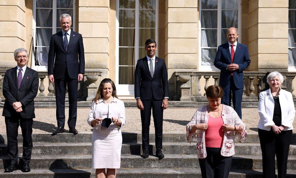 Les participants au G7 finances se sont réunis ce week-end à Londres.