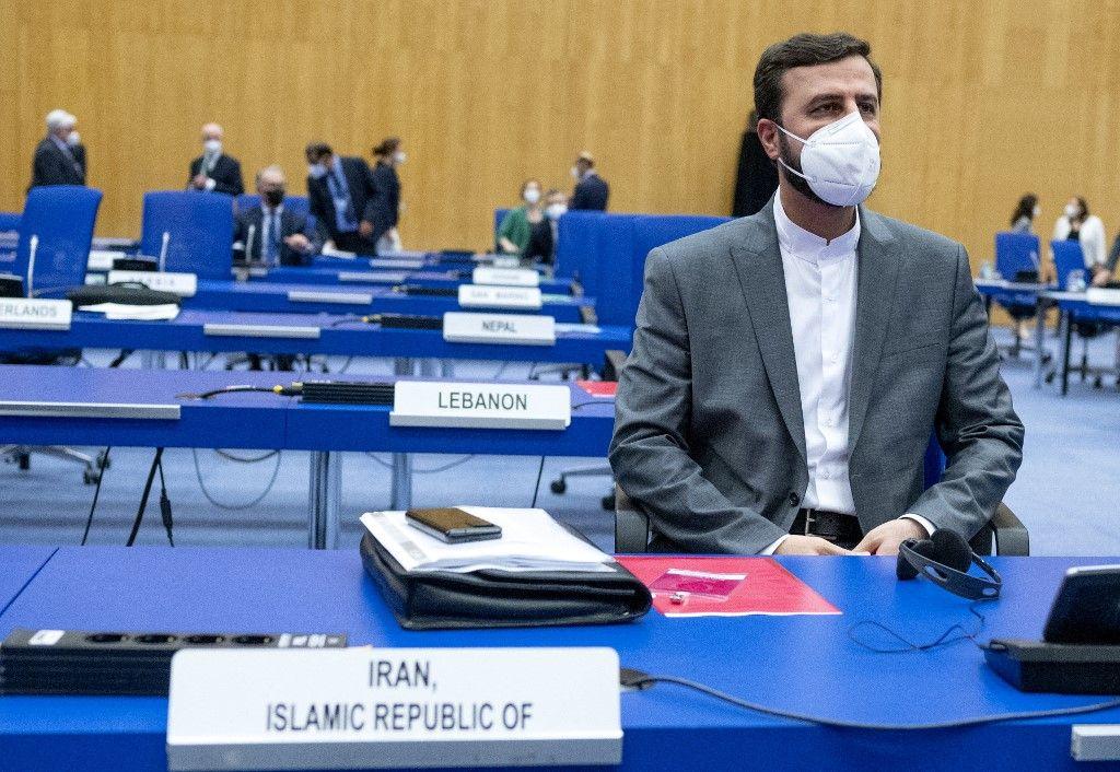 Le gouverneur de l'Iran auprès de l'Agence internationale de l'énergie atomique (AIEA), Kazem Gharib Abadi.