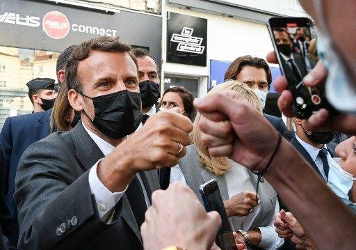 Emmanuel Macron à Valence, le 8 juin 2021.