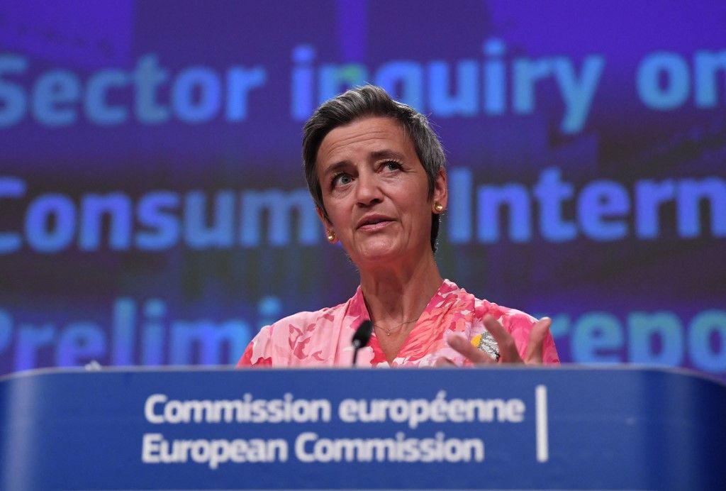 Margrethe Vestager, vice-présidente exécutive de la Commission européenne en charge du DSA.