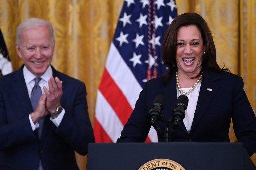 Joe Biden et Kamala Harris le 17 juin 2021.