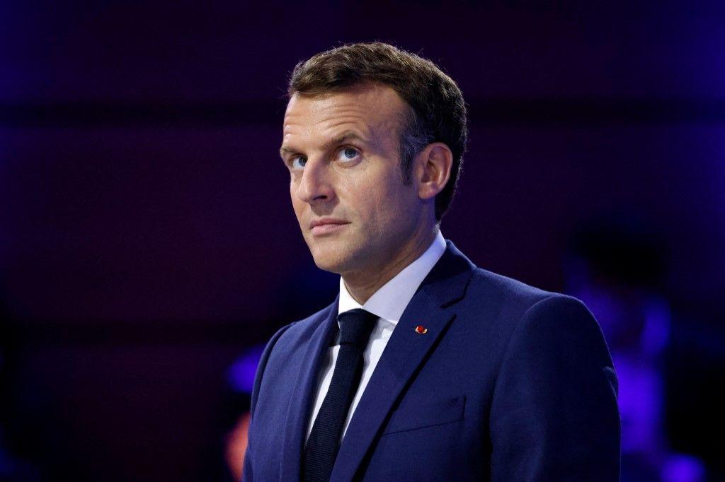 Le président Emmanuel Macron assiste au Forum Génération Égalité au Carrousel du Louvre à Paris, le 30 juin 2021.