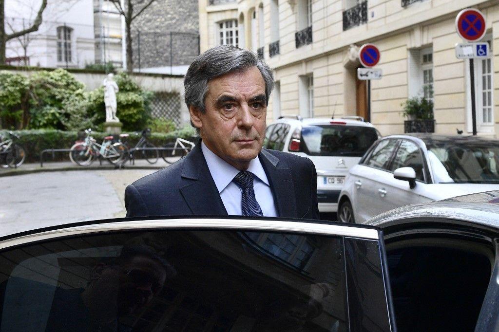 Une photo prise le 24 février 2020 de l'ancien Premier ministre François Fillon à Paris.
