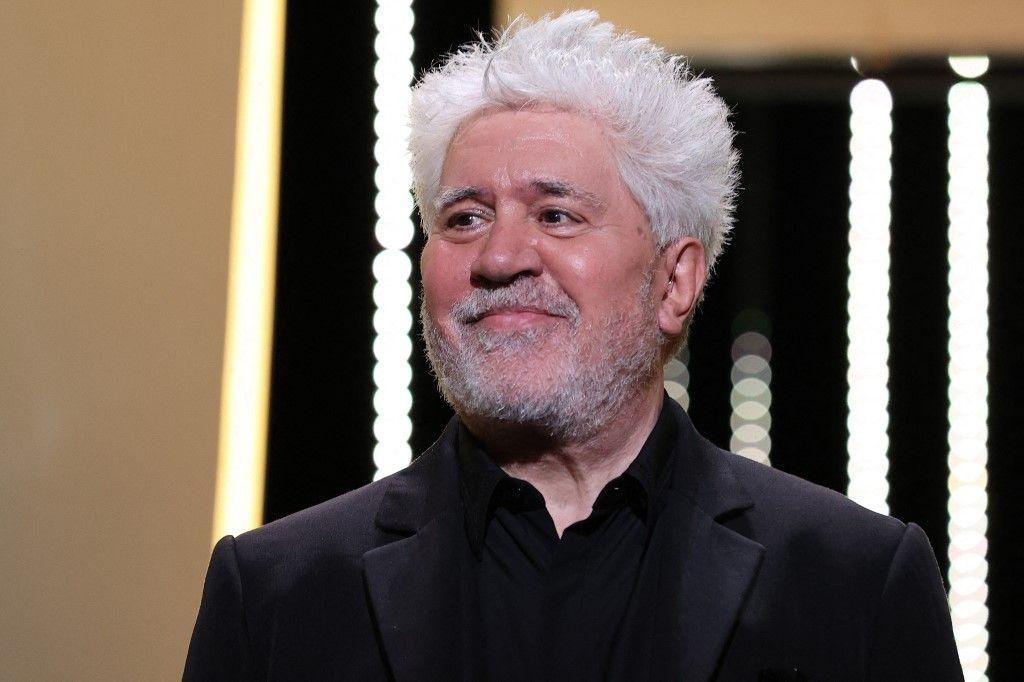 Pedro Almodovar au Festival de Cannes 2021.