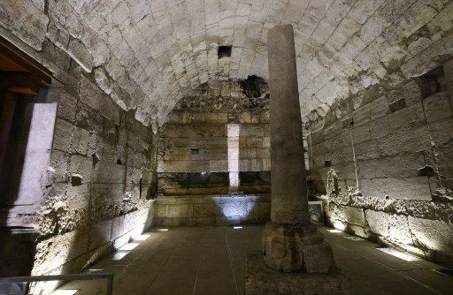 Le bâtiment a été construit entre 20 et 30 après Jésus-Christ.