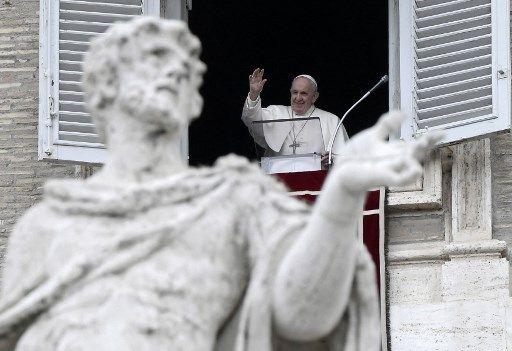 Le pape François, le 9 juillet 2021.