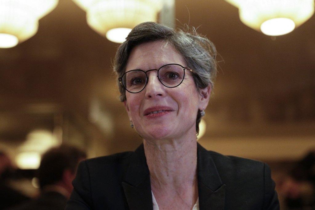 La candidate à la primaire EELV pour l'élection présidentielle 2022, Sandrine Rousseau, a envoyé un tacle aux hommes blancs.